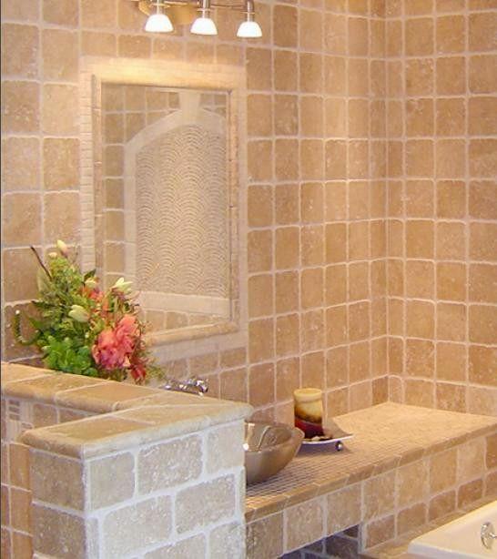 elegant travertine bathroom tiles model-Fascinating Travertine Bathroom Tiles Ideas