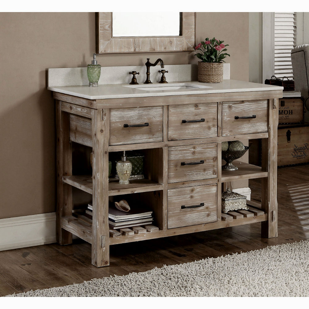 this furniture cabin mountain log customizable vanities western pin woods vanity including bathroomscabin style bathroom refurbished by