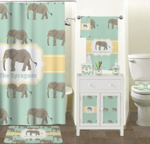 Elephant Bathroom Set Elegant Elephant Bathroom Accessories Set Ceramic Personalized Model