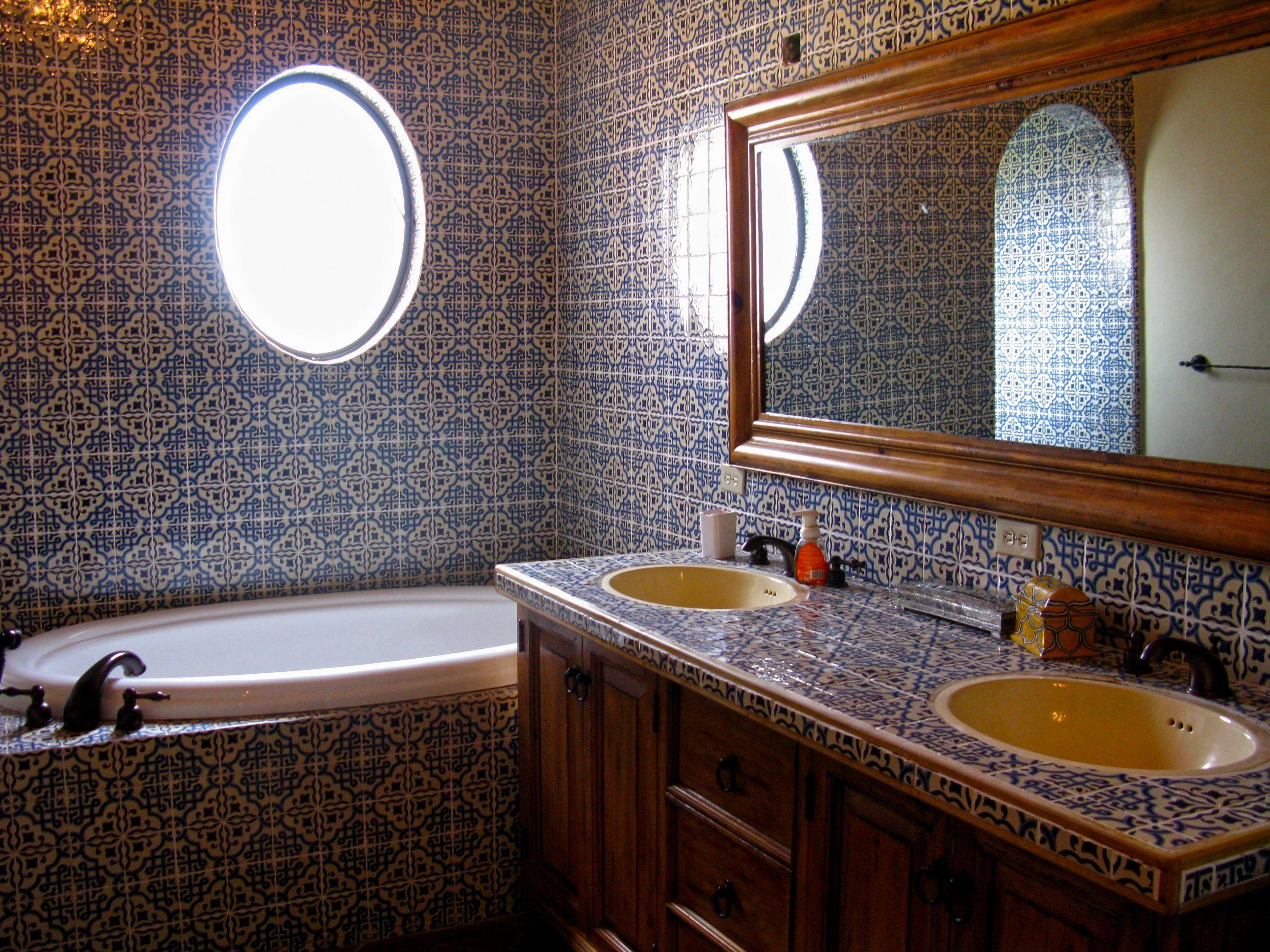 excellent mexican tile bathroom picture-Latest Mexican Tile Bathroom Ideas