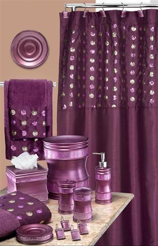 excellent plum bathroom accessories décor-Cool Plum Bathroom Accessories Image