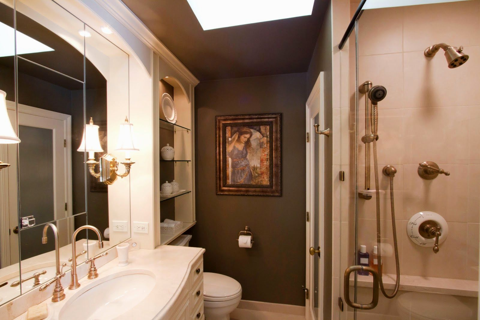 fancy floating shelves bathroom concept-Wonderful Floating Shelves Bathroom Picture