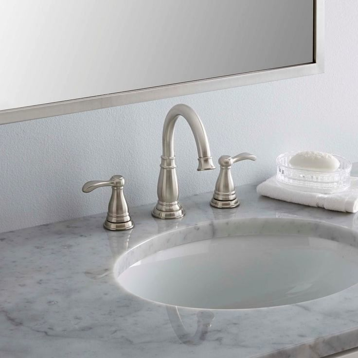 Elegant Bathroom Sinks: Elegant Gold Bathroom Sink Faucets Portrait