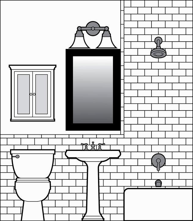 fancy how to draw a bathroom portrait-Beautiful How to Draw A Bathroom Construction