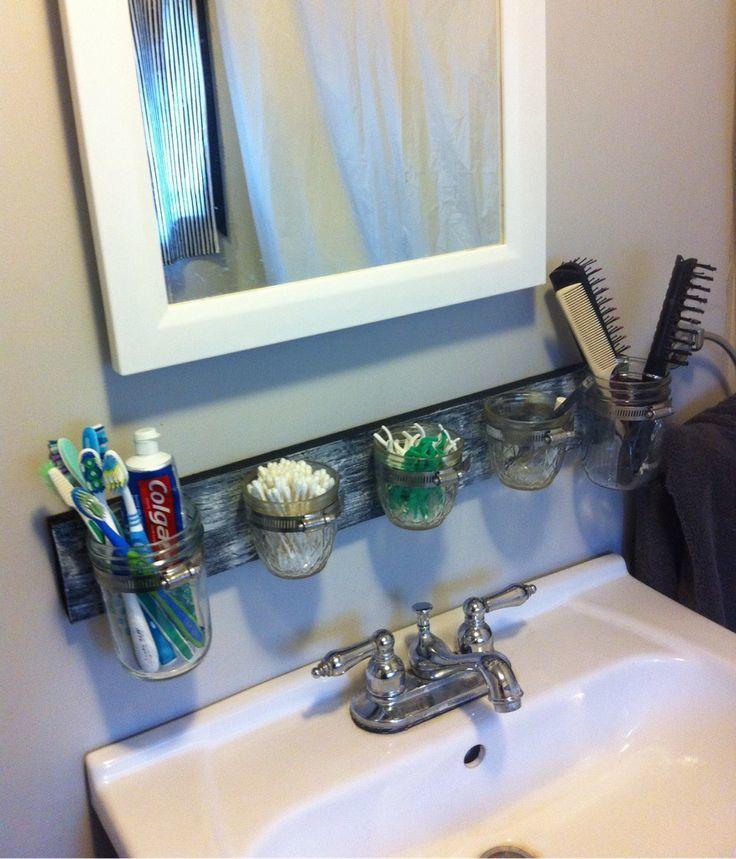 fancy mason jar bathroom accessories ideas-Fantastic Mason Jar Bathroom Accessories Inspiration