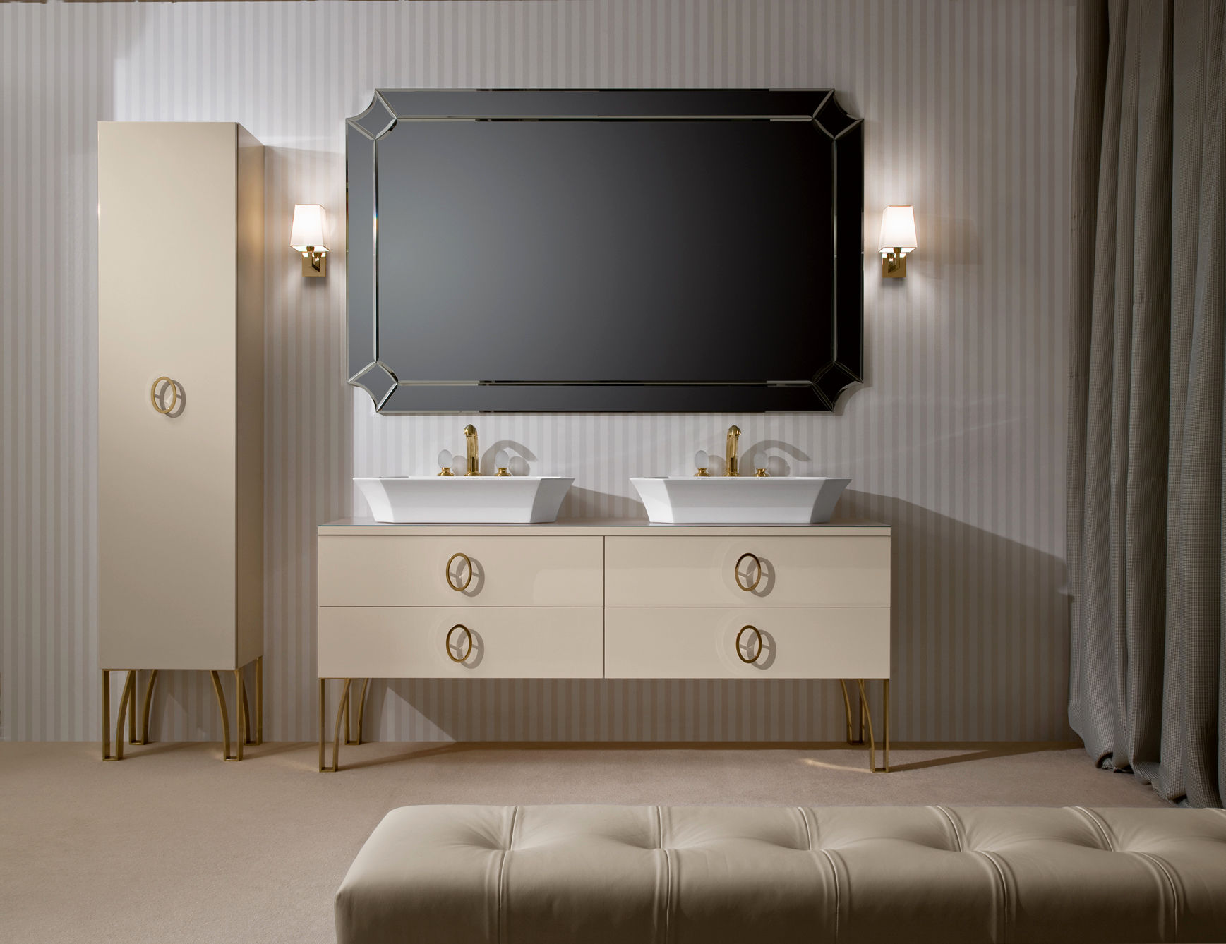 fantastic italian bathroom vanities image-Fascinating Italian Bathroom Vanities Design