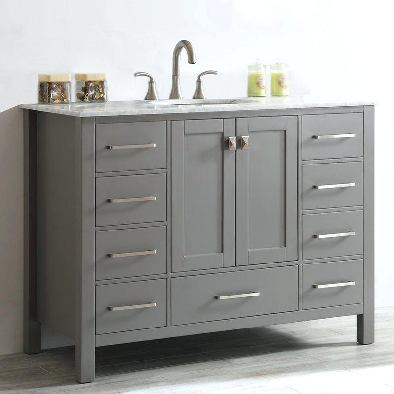 fascinating 48 inch bathroom vanity with top architecture-Excellent 48 Inch Bathroom Vanity with top Pattern