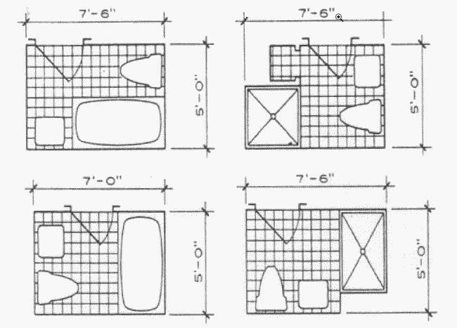 fascinating 8x8 bathroom layout layout-Unique 8×8 Bathroom Layout Model