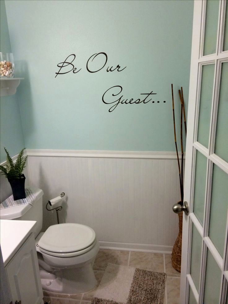 Beautiful Guest Bathroom Decorating Ideas Picture - Home ...
