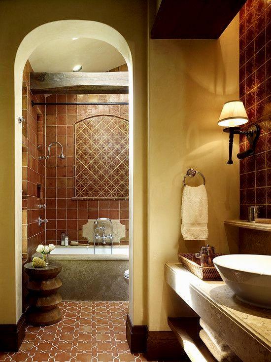 fascinating mexican tile bathroom décor-Latest Mexican Tile Bathroom Ideas