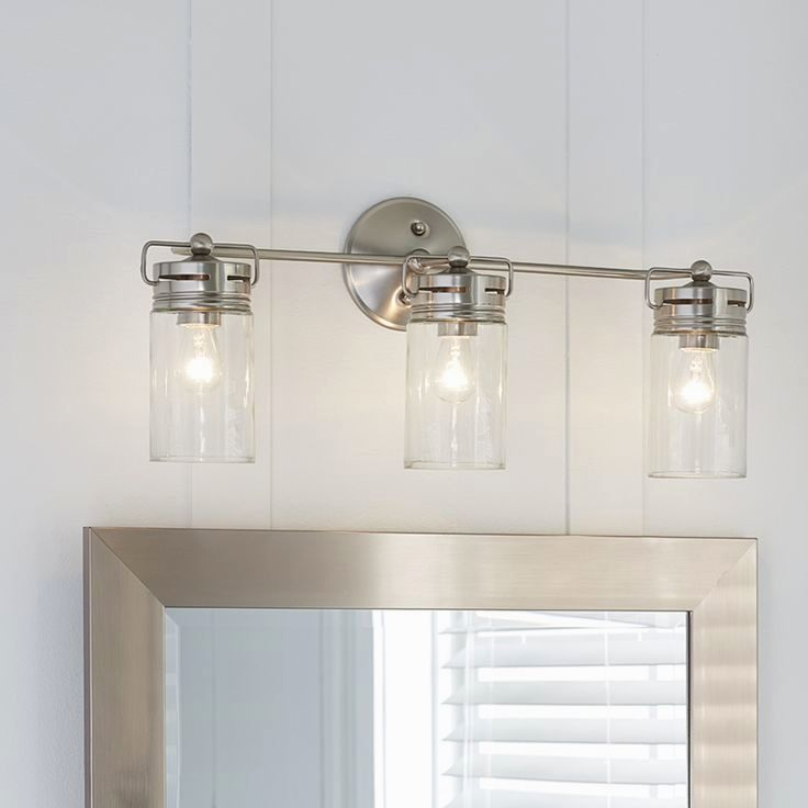 finest bathroom light fixture with electrical outlet online-Fancy Bathroom Light Fixture with Electrical Outlet Construction