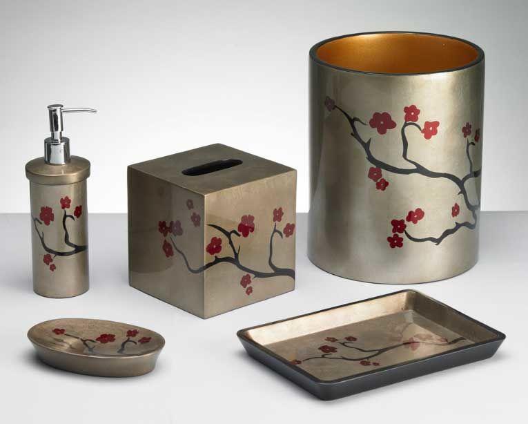 finest cherry blossom bathroom set image-Stylish Cherry Blossom Bathroom Set Layout