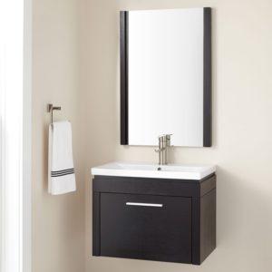 Floating Bathroom Cabinets Cute Floating Bathroom Vanity Construction