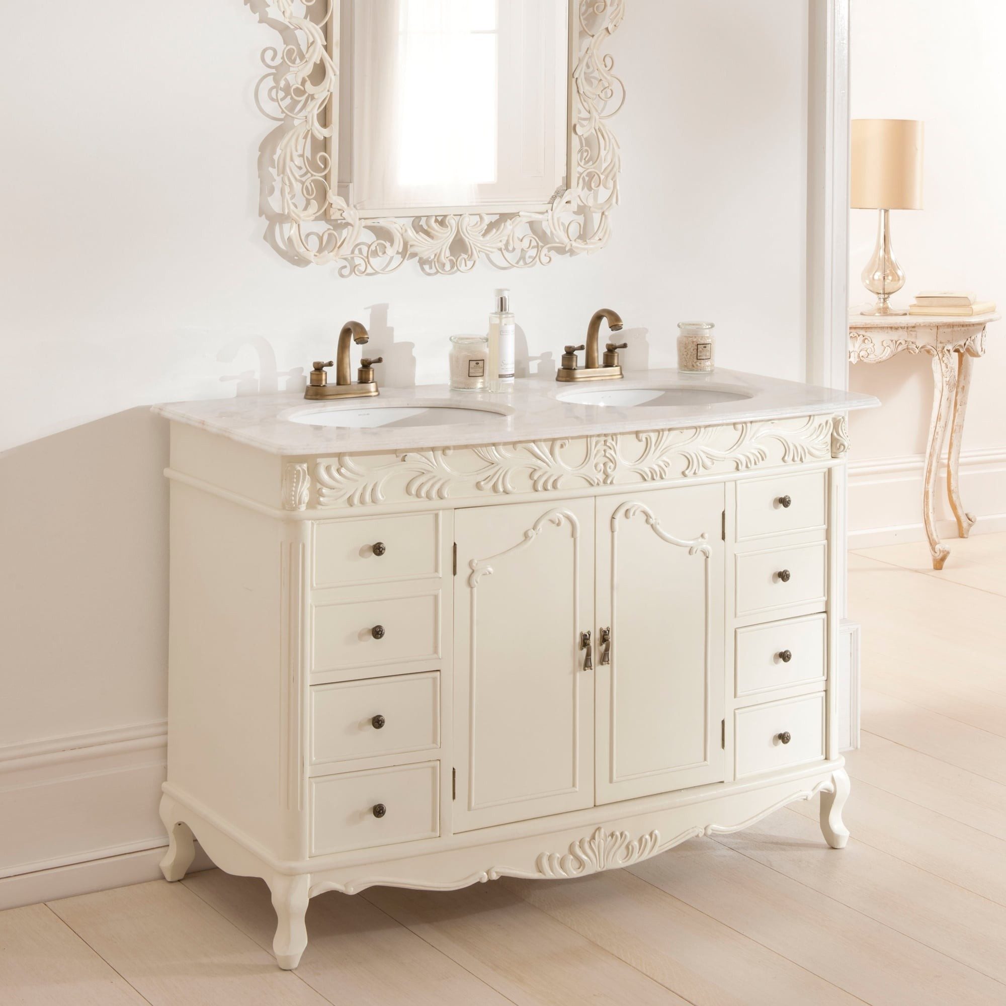 French Bathroom Vanity Cool Double Antique French Vanity Unit Picture
