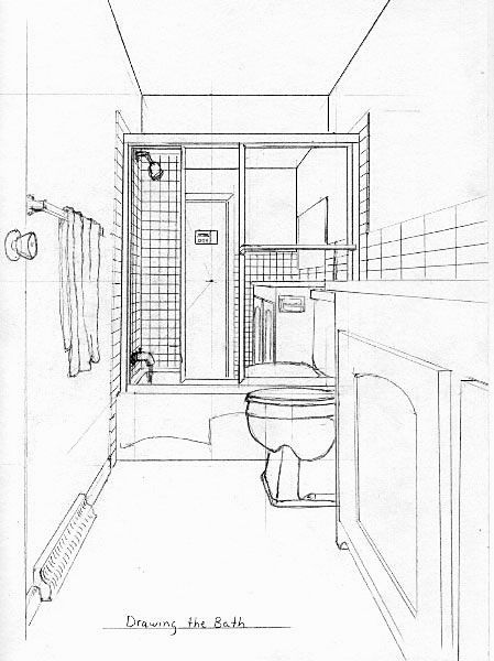 fresh how to draw a bathroom construction-Beautiful How to Draw A Bathroom Construction