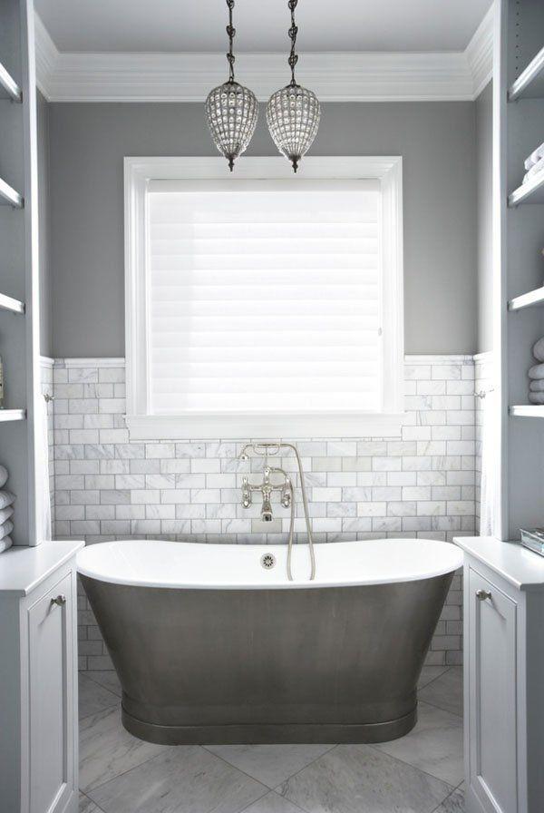 fresh marble subway tile bathroom portrait-Contemporary Marble Subway Tile Bathroom Layout