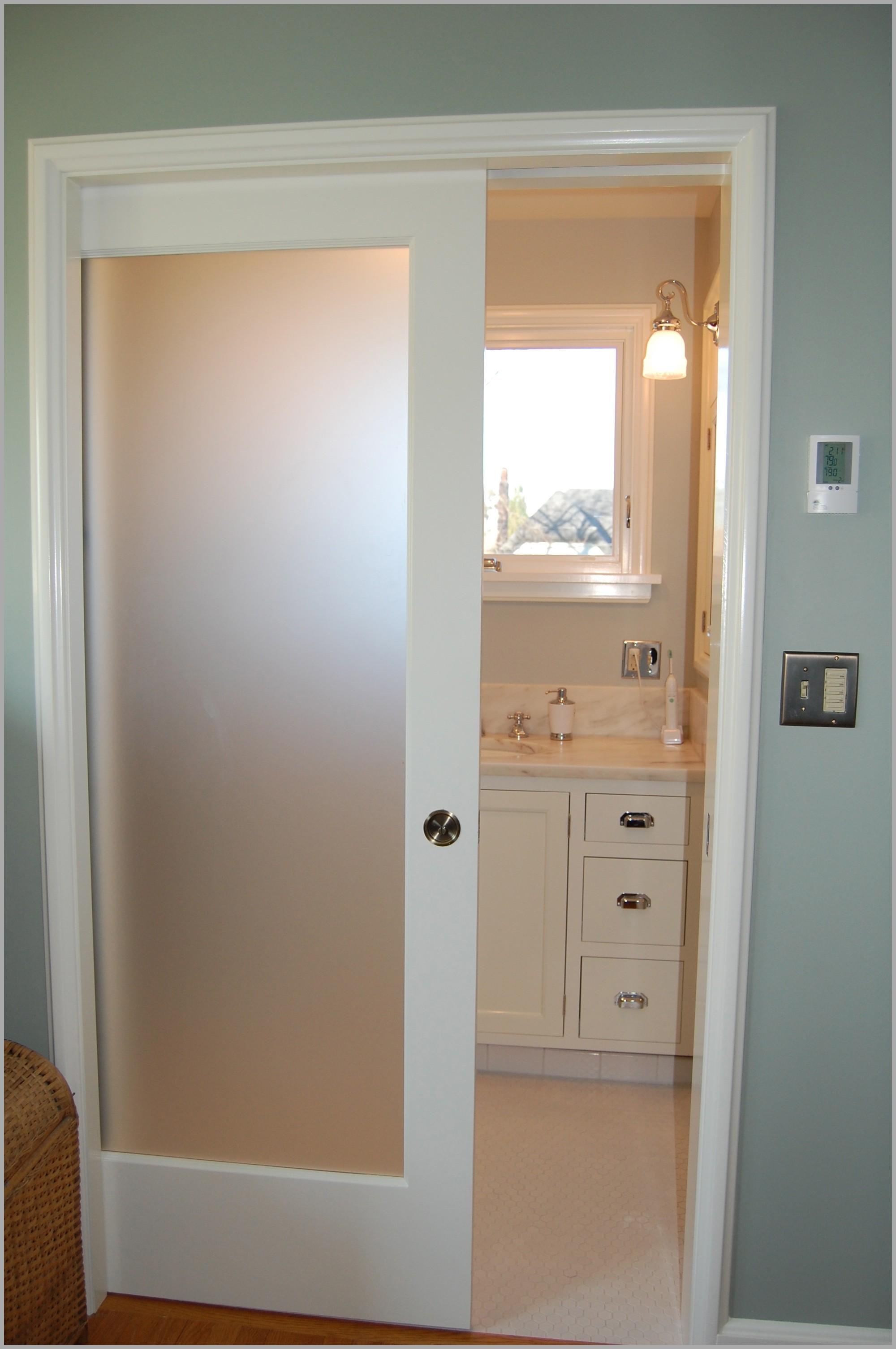 Cute Frosted Gl Interior Bathroom Doors Concept Design