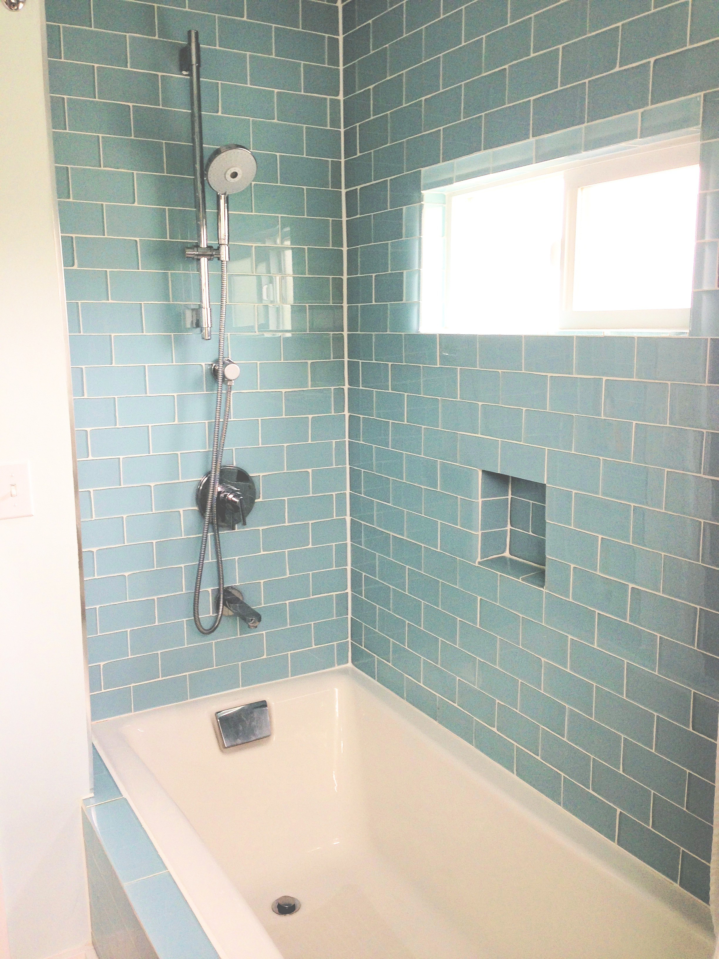 Elegant Glass Tiles for Bathroom Ideas - Bathroom Design Ideas ...