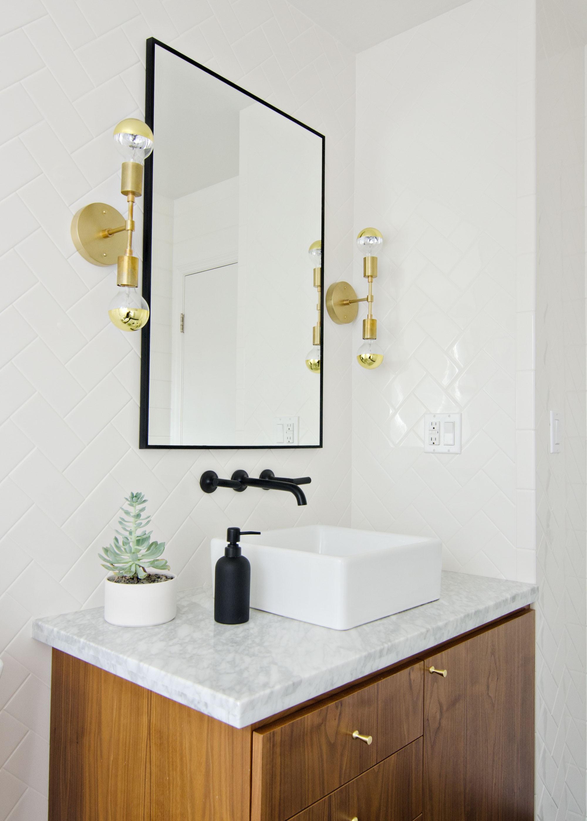 Terrific Gold Bathroom Light Fixtures Online - Home Sweet ...