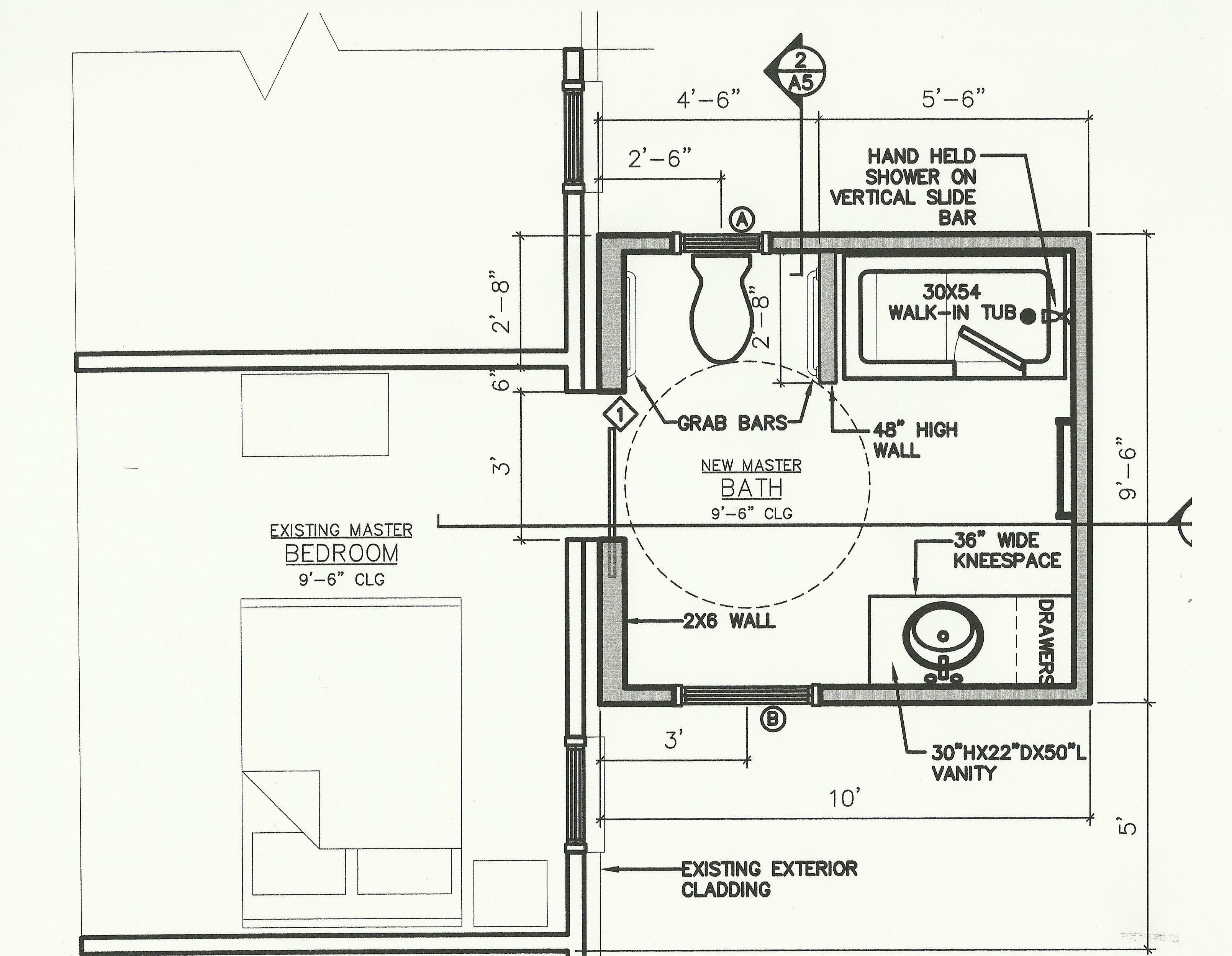 fantastic handicap bathroom floor plans photograph  home