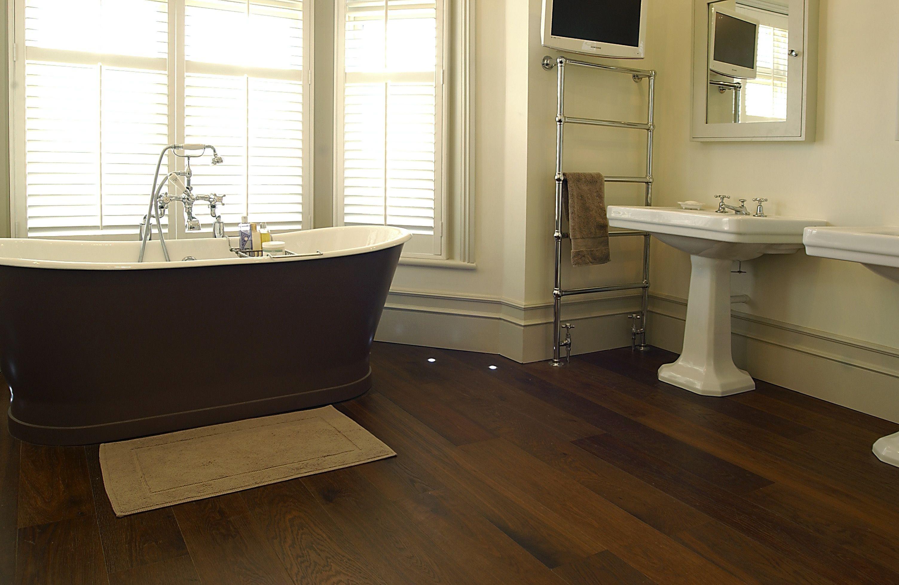 Hardwood Floors In Bathroom top Should You Install Hardwood Flooring In Your Bathroom or Not Collection