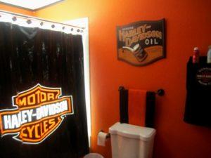 Harley Davidson Bathroom Accessories Fascinating Elegant Harley Davidson Bathroom Decor Bathroom Decoration Ideas Wallpaper