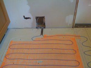 Heated Floors In Bathroom Terrific In Floor Heating for Ceramic Tile Heated Floor Systems Heating Image