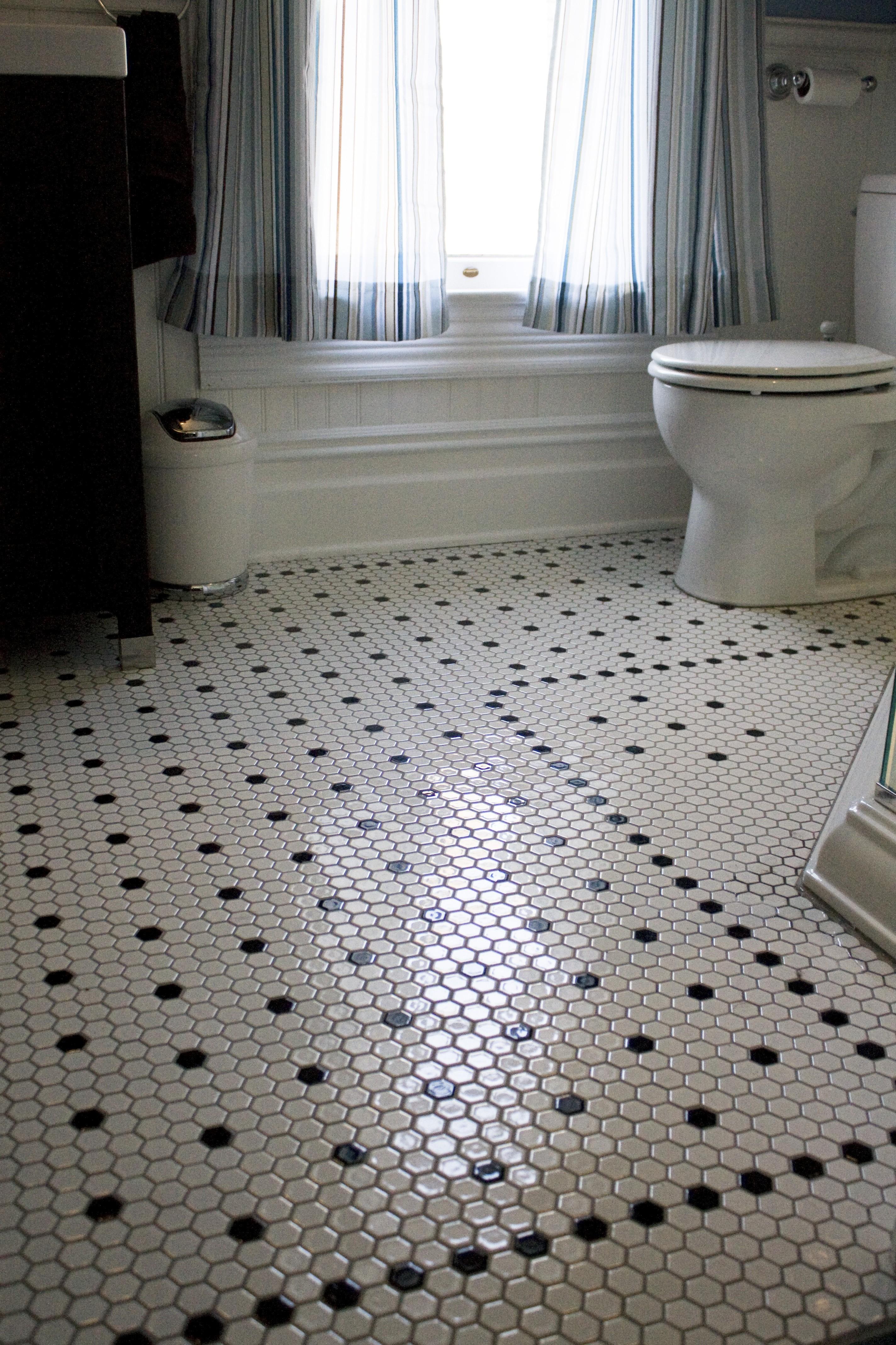 Terrific Hexagon Tiles Bathroom Bathroom Design Ideas