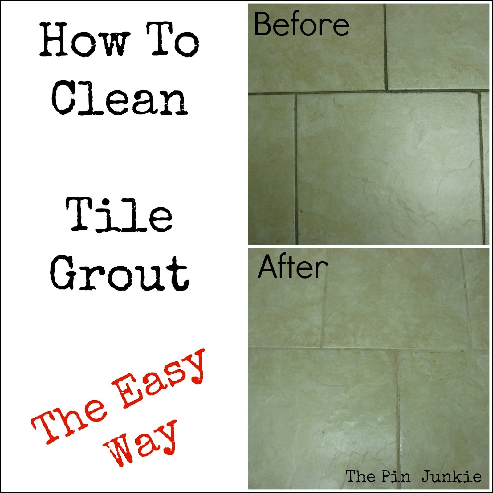 Contemporary How to Clean Bathroom Tile Grout Model - Bathroom ...