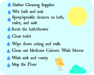 How to Keep Bathroom Clean Stunning Bathroom Clean Up Signs Wallpaper