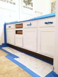 How to Paint A Bathroom Sensational How to Paint A Bathroom Vanity Classy Clutter Plan