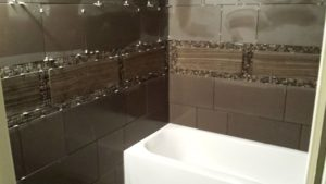 How to Tile A Bathroom Fascinating How to Tile A Bathroom Wall Wallpaper