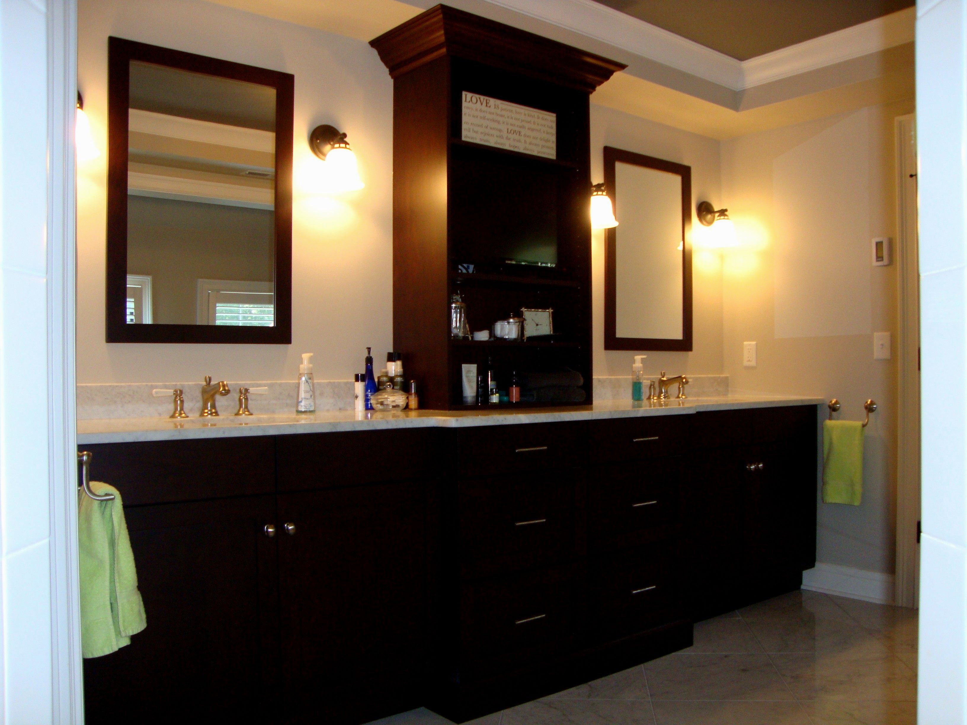 incredible bathroom double vanities with tops ideas-Wonderful Bathroom Double Vanities with tops Gallery