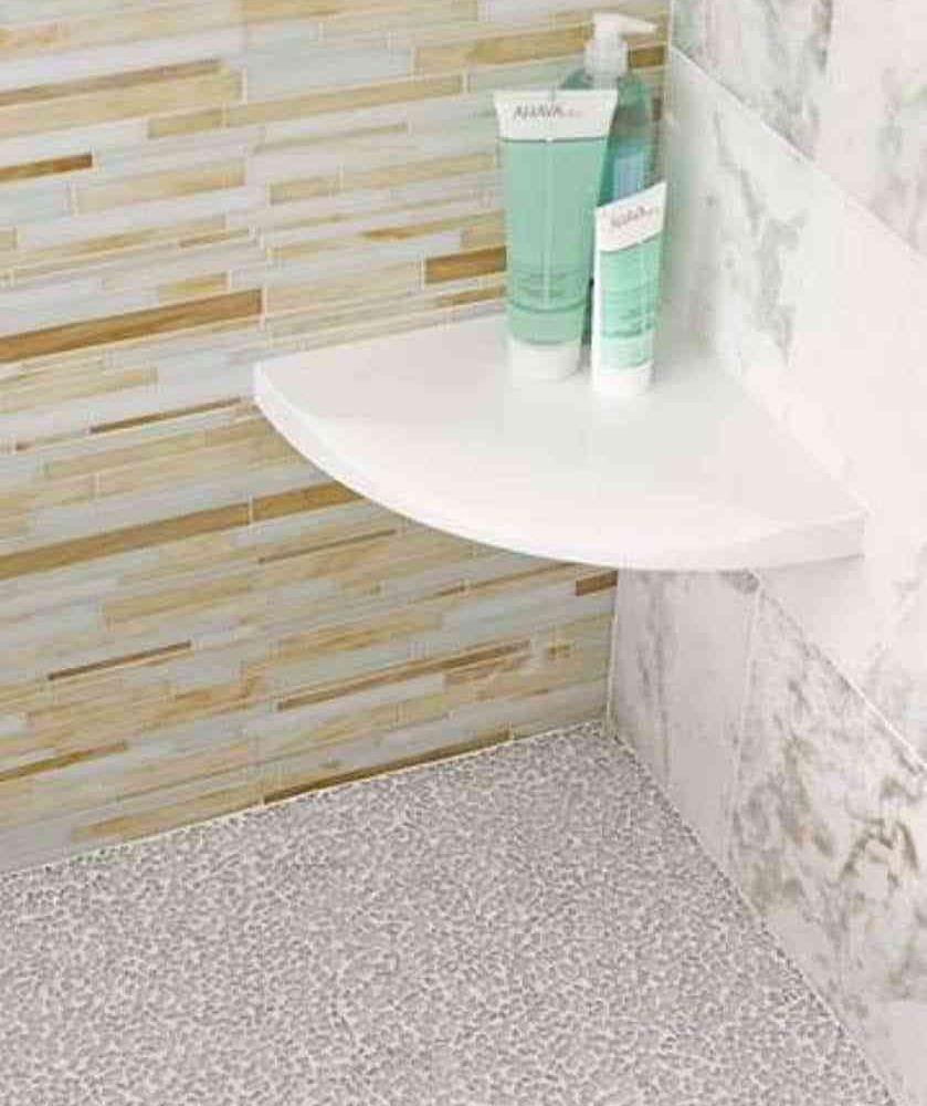 incredible marble bathroom shelf image-Beautiful Marble Bathroom Shelf Gallery
