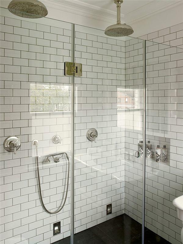 incredible marble subway tile bathroom pattern-Contemporary Marble Subway Tile Bathroom Layout