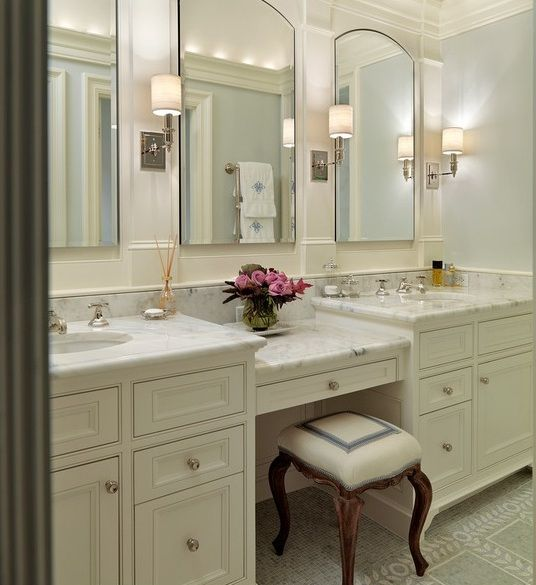 inspirational bathroom vanity with makeup station décor-Excellent Bathroom Vanity with Makeup Station Layout