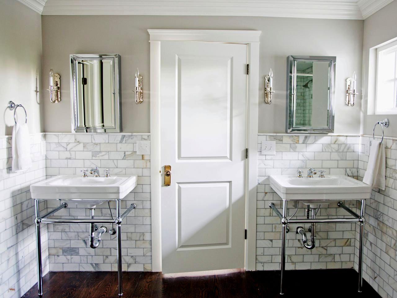 Fascinating Gray Wood Tile Bathroom Portrait - Bathroom Design Ideas ...