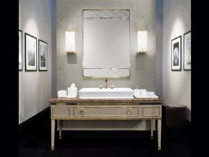 Italian Bathroom Vanities New Lutetia L Luxury Italian Bathroom Vanity In Taupe Lacquered Wood Pattern