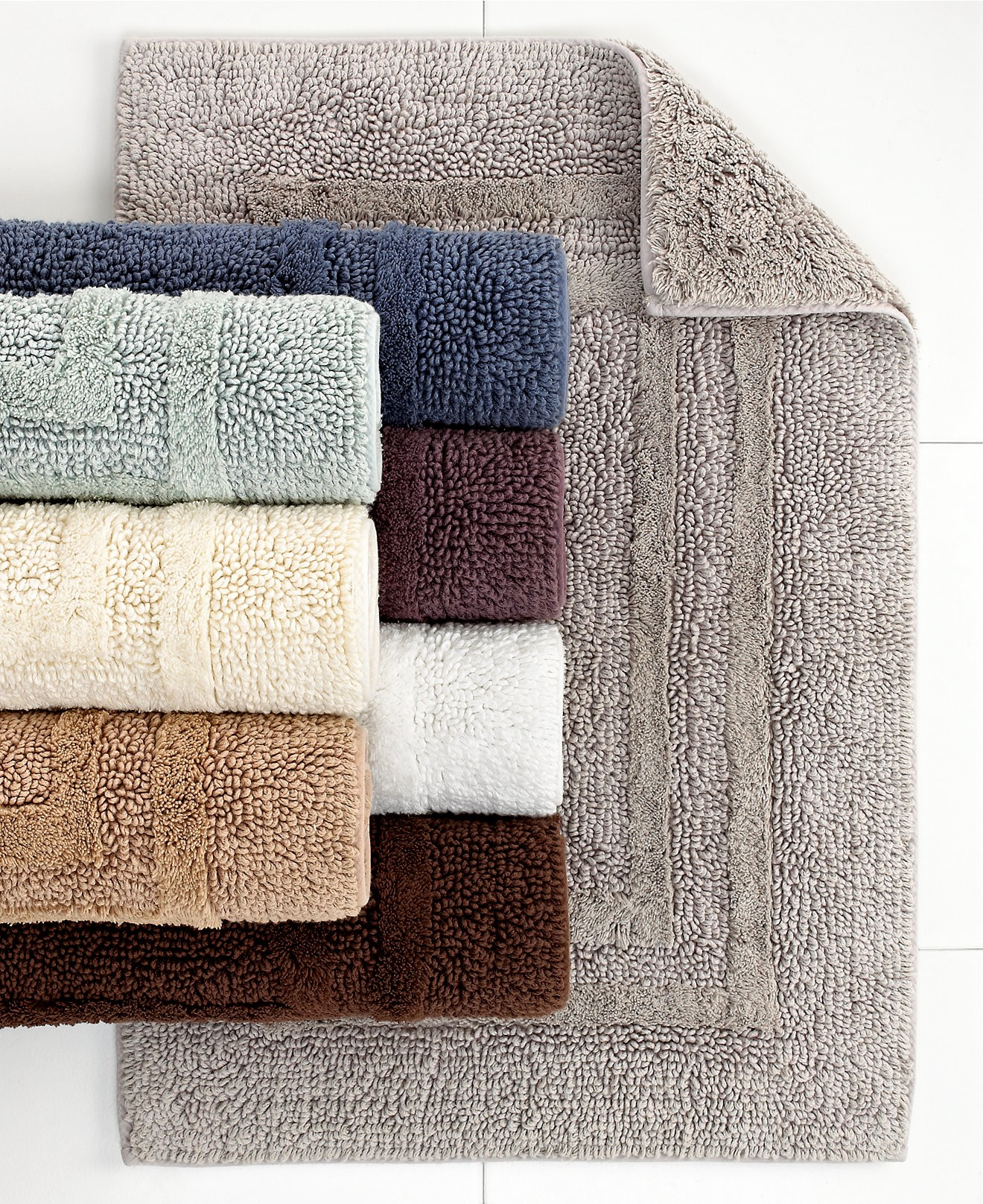 Kohls Bathroom Rugs Inspirational Hotel Collection Cotton Reversible Bath Created Photo