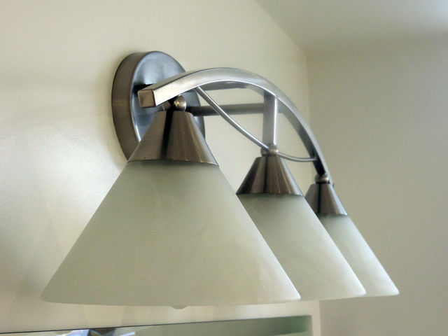 Excellent Bathroom Light Fixtures Brushed Nickel Layout - Bathroom ...