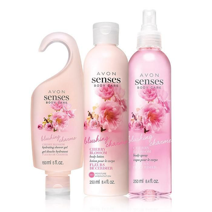 Stylish Cherry Blossom Bathroom Set Layout - Bathroom Design Ideas ...
