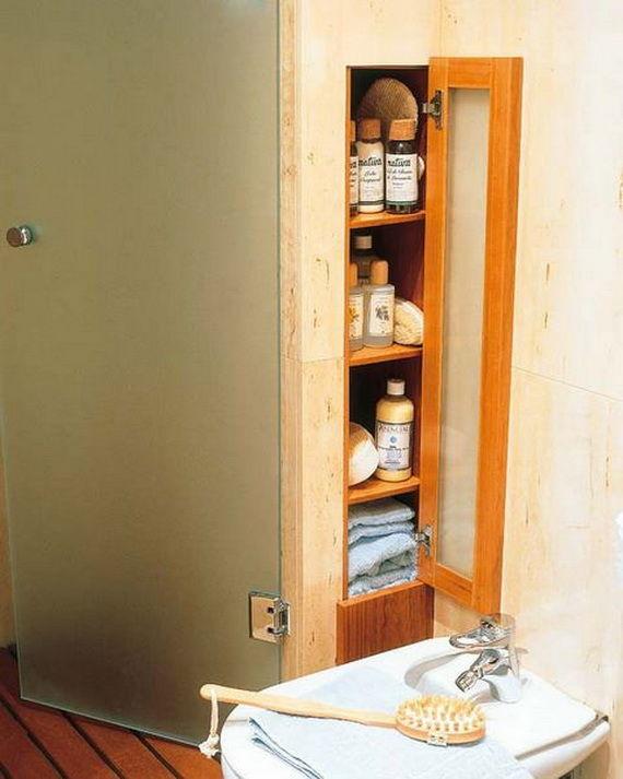latest creative bathroom storage online-Beautiful Creative Bathroom Storage Pattern