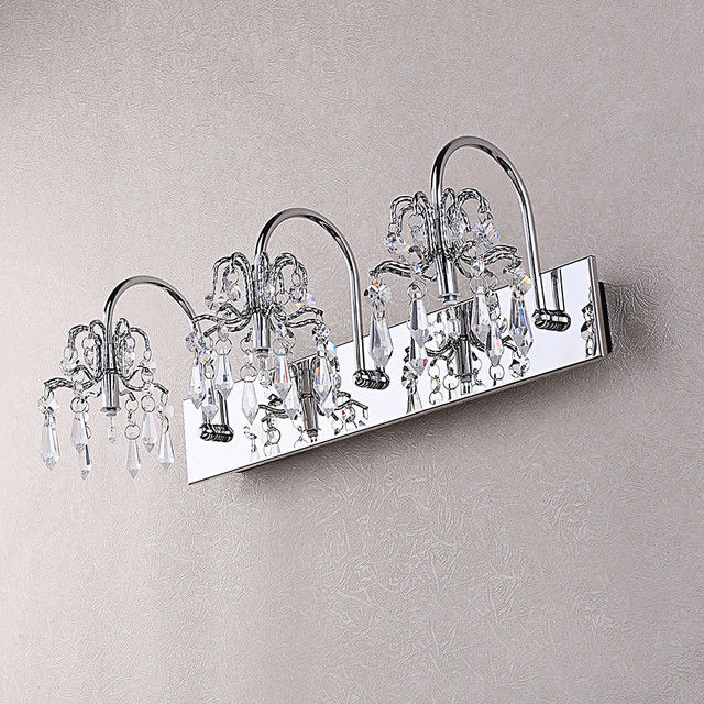 Latest Crystal Vanity Lights For Bathroom Ideas Inspirational Crystal  Vanity Lights For Bathroom Décor