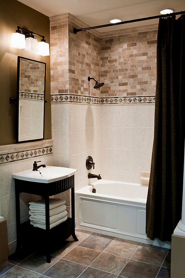 latest gray and brown bathroom layout-Elegant Gray and Brown Bathroom Inspiration