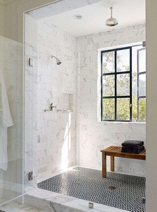 latest marble bathroom shelf image-Beautiful Marble Bathroom Shelf Gallery
