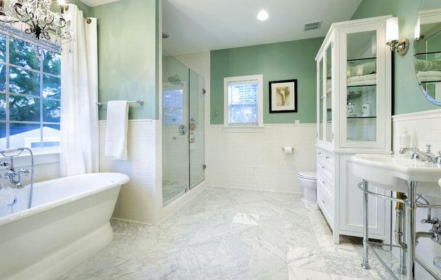 latest marble subway tile bathroom architecture-Contemporary Marble Subway Tile Bathroom Layout
