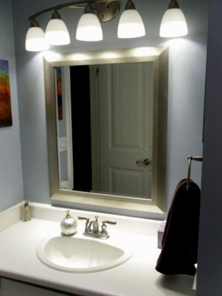 lovely 5 light bathroom fixture photograph-Contemporary 5 Light Bathroom Fixture Image