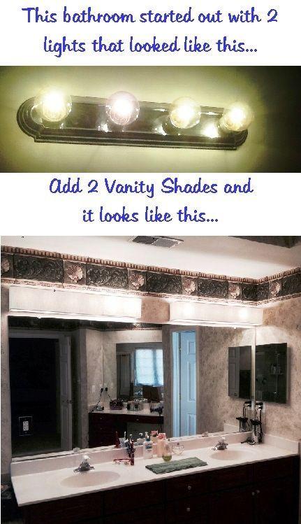 lovely bathroom vanity light shades model-Beautiful Bathroom Vanity Light Shades Photo