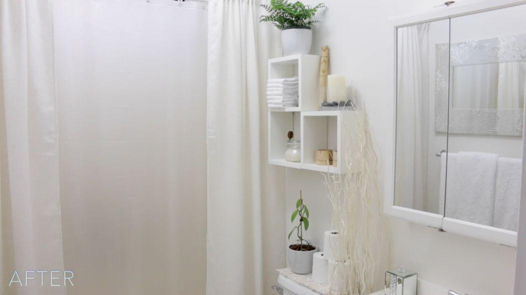 lovely floating shelves bathroom construction-Wonderful Floating Shelves Bathroom Picture