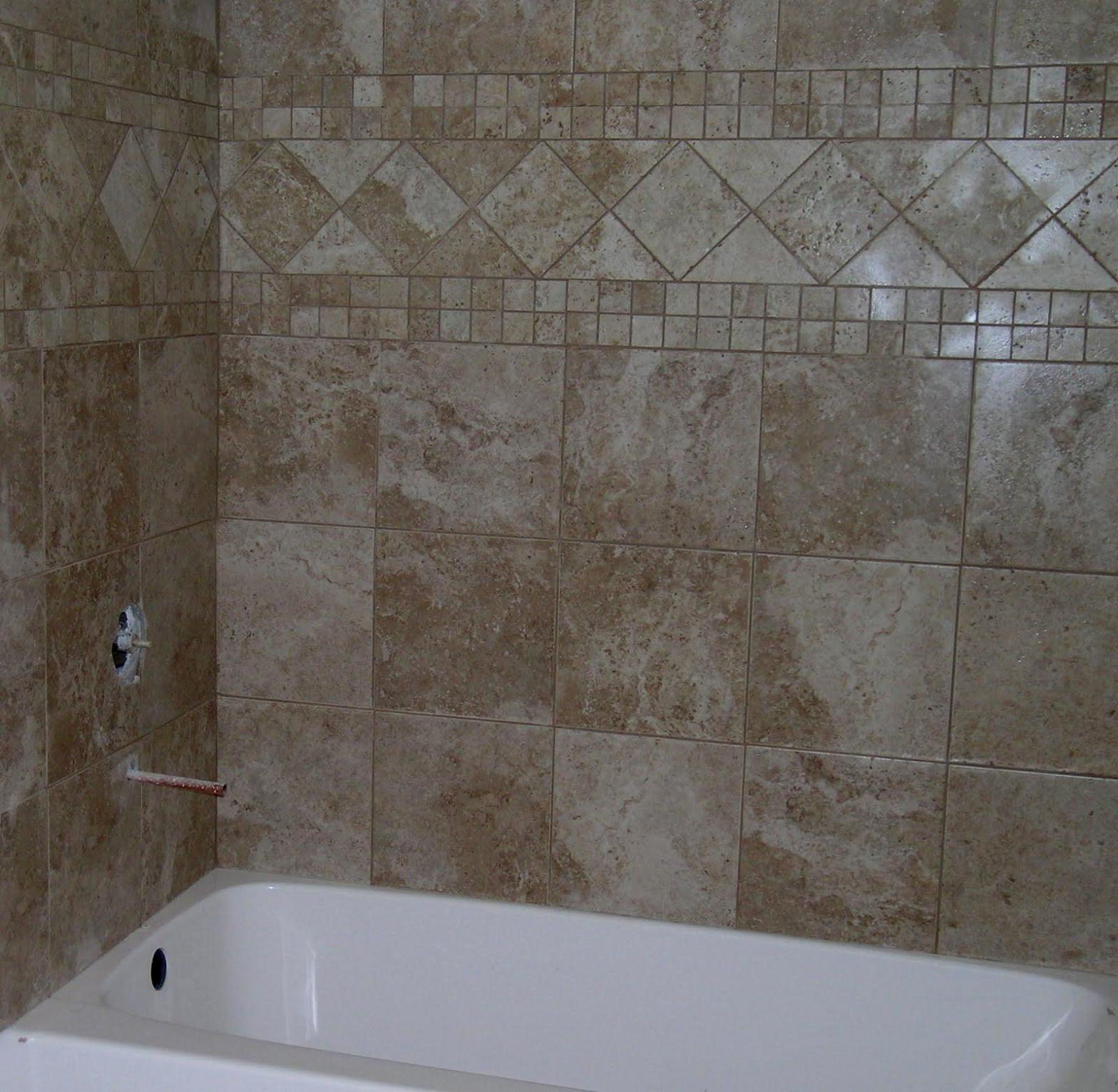 Elegant Peel And Stick Bathroom Wall Tiles Photo